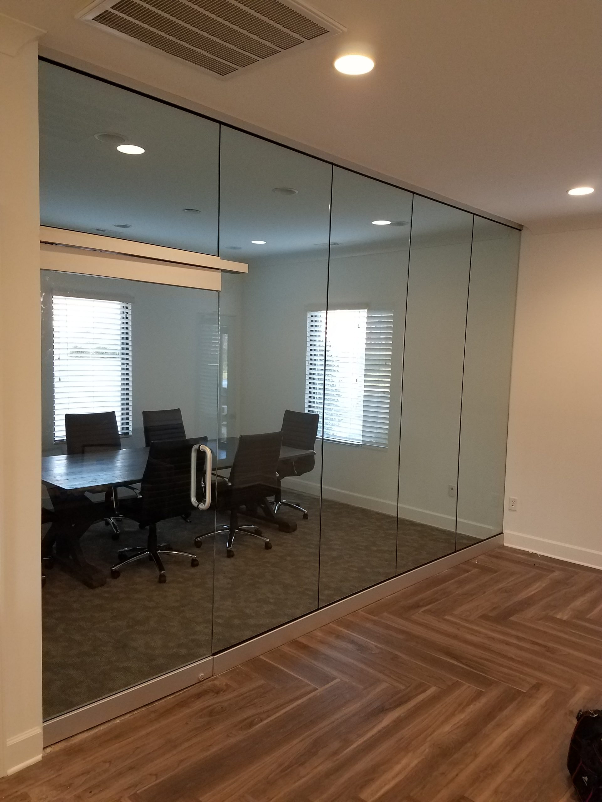 Glass Conference Room Wall